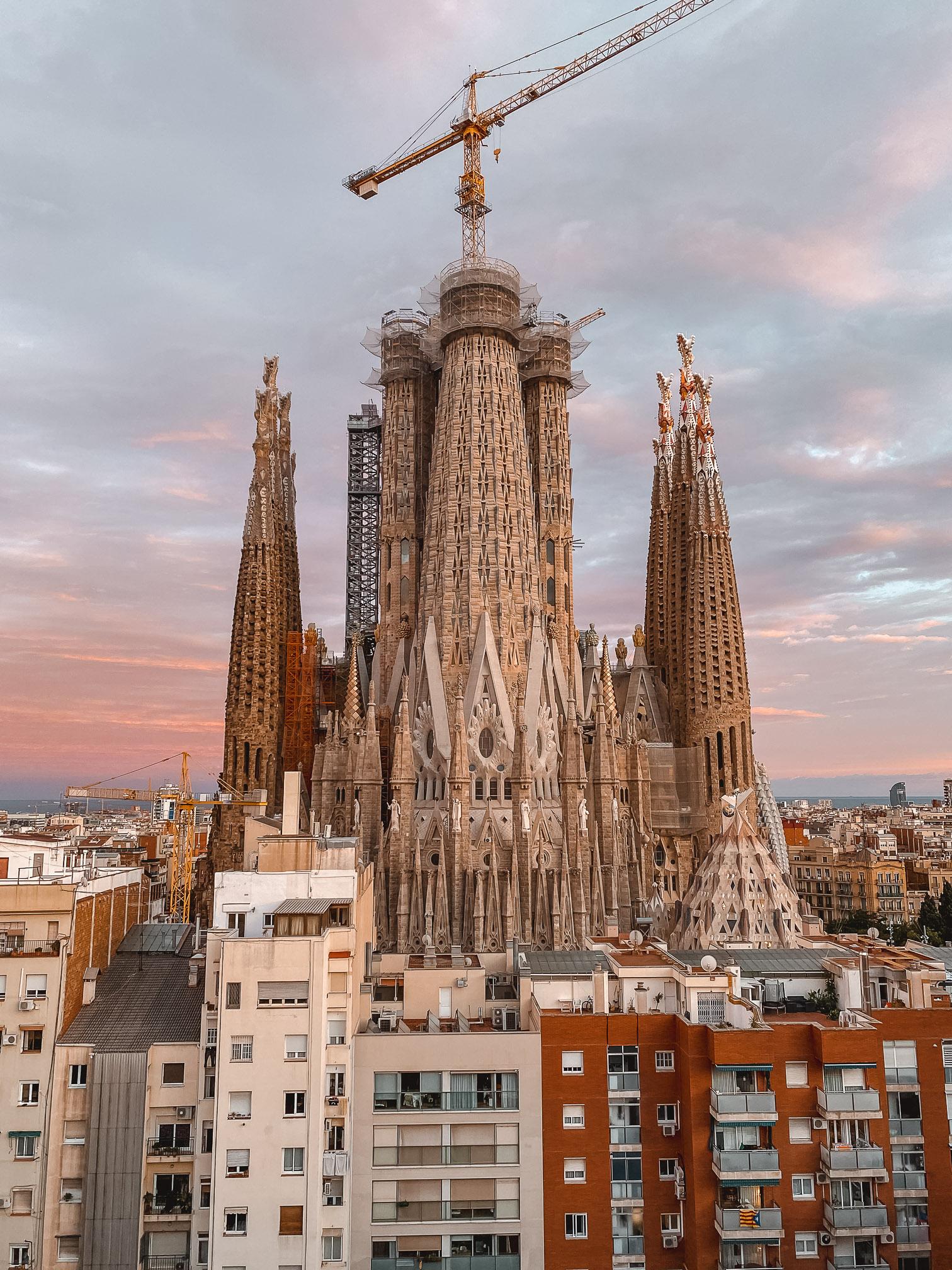 Panoramica Sagrada Familia