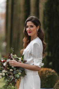 vestido blanco novia covid lola li