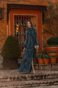 invitada perfecta vestido largo estampado