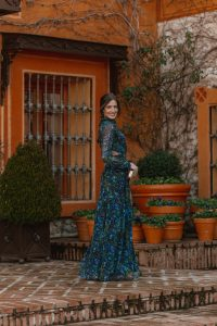 vestido largo invitada primavera