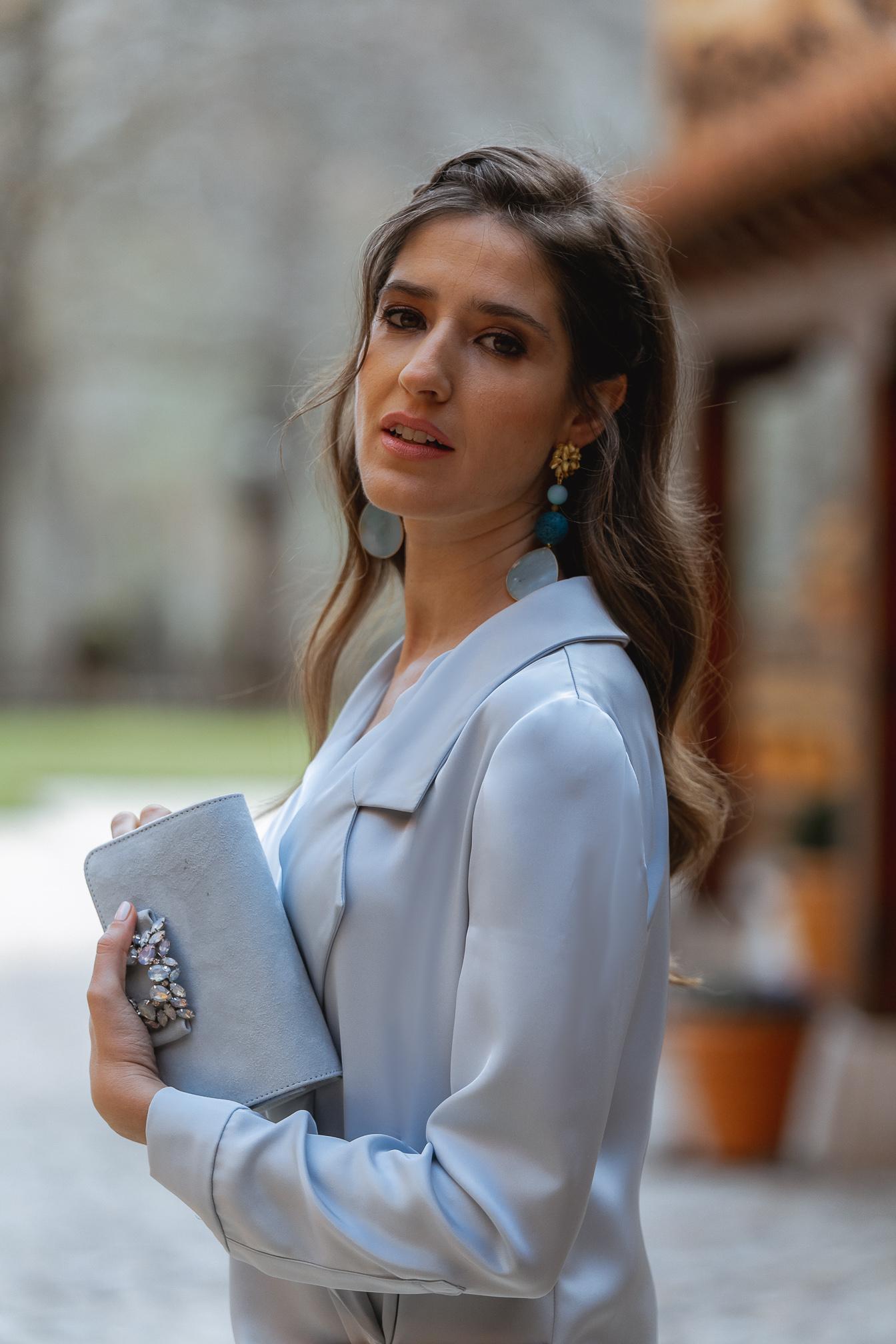 Pendientes azul Lola Li Alexah