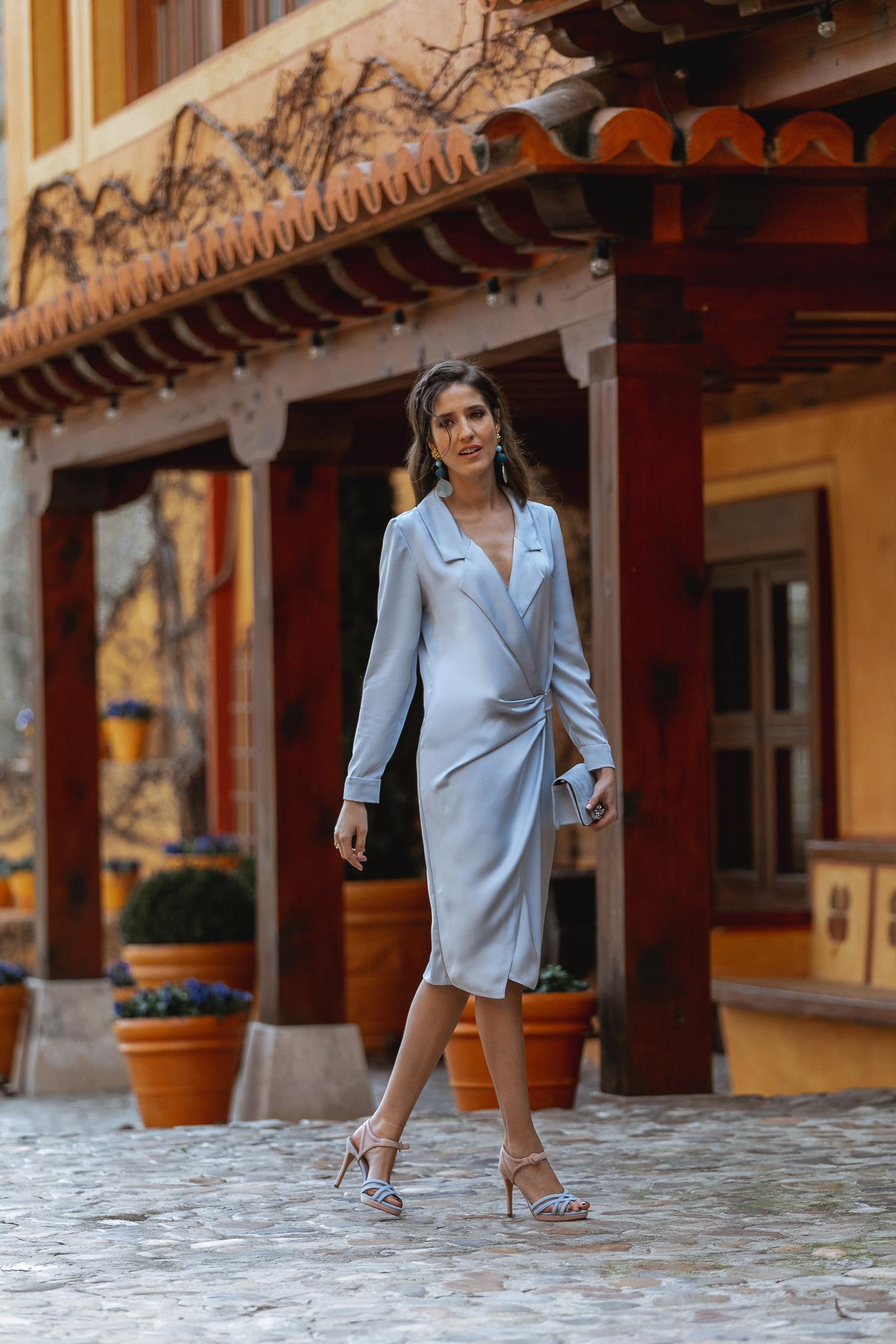 vestido azul invitada 2021 invitada perfecta