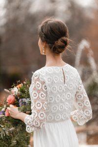 recogido trenza novia invitada perfecta