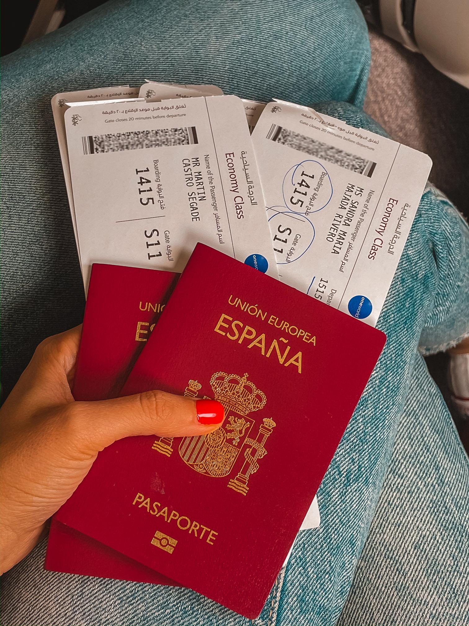 documentación viajar maldivas