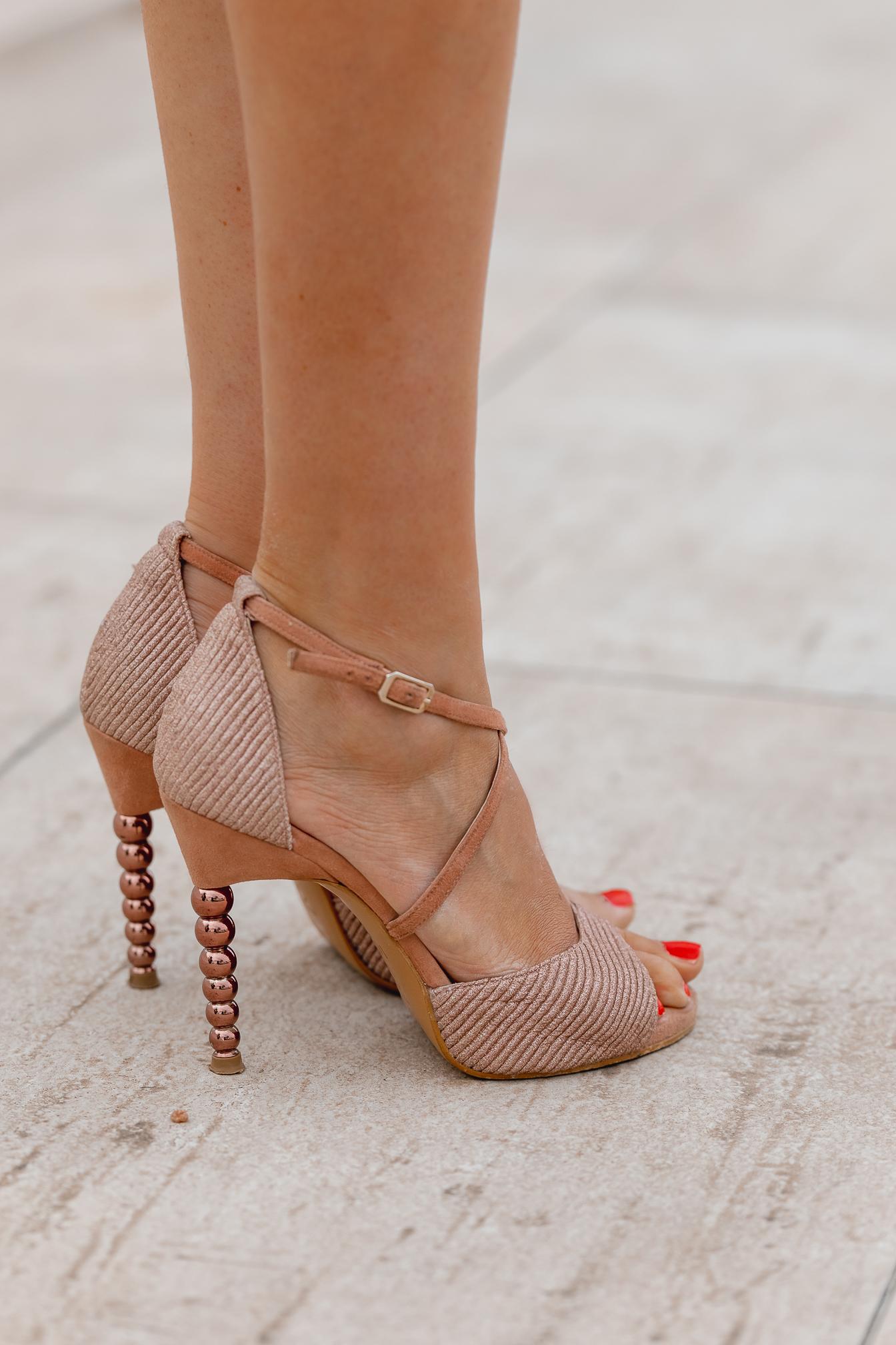 sandalias rosas