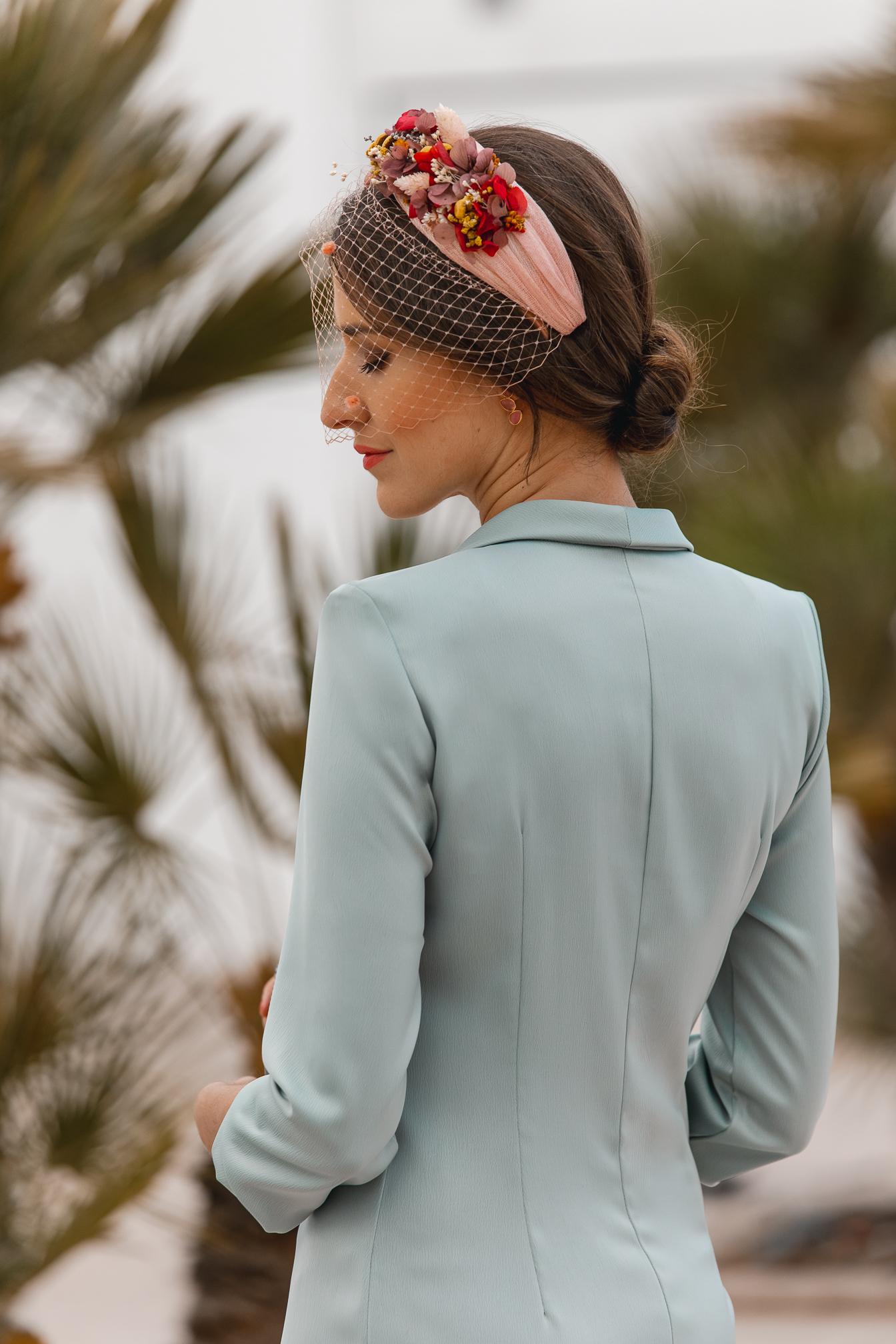 invitada perfecta vestido verde boda