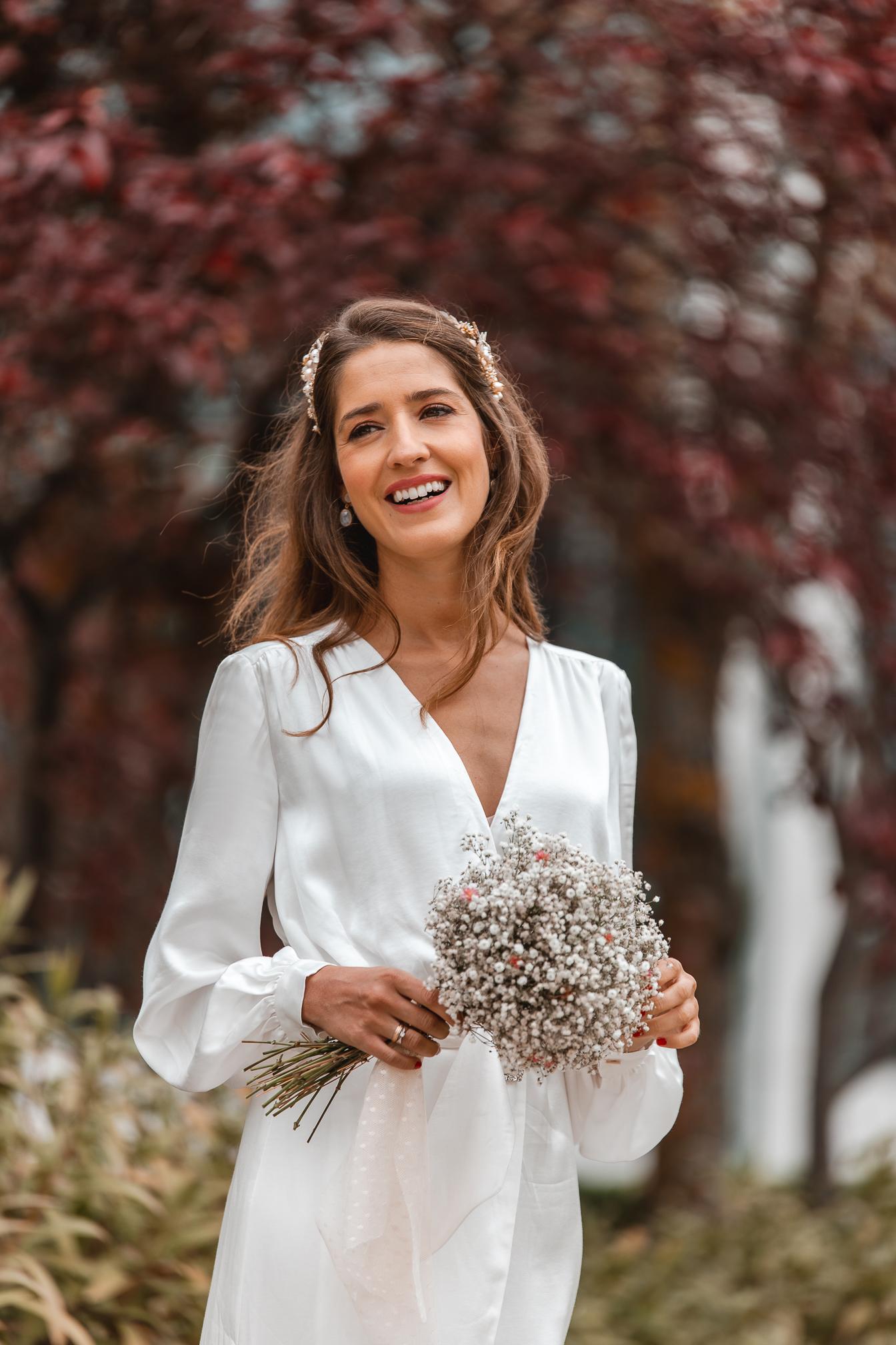 Invitada perfecta vestido blanco novia