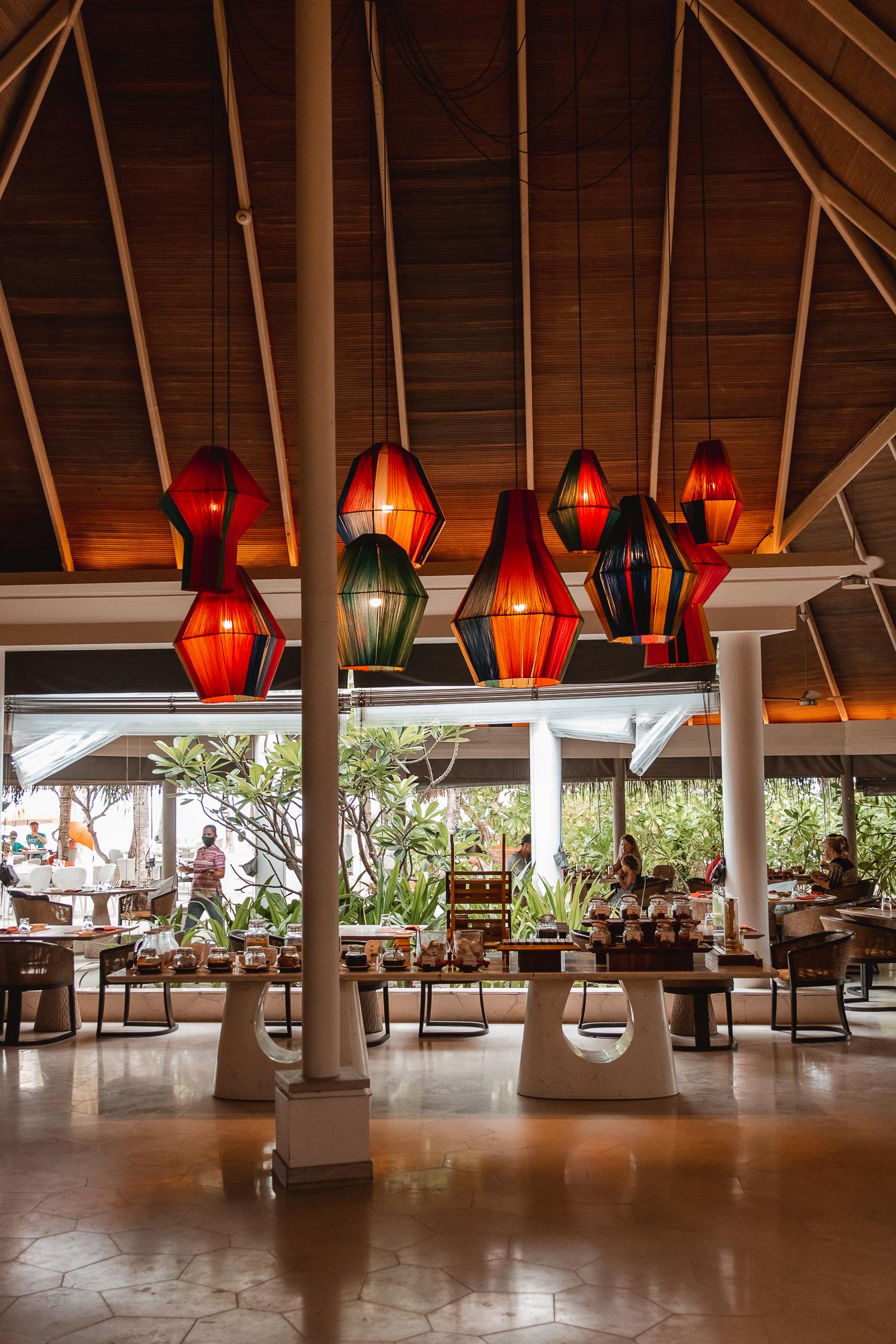 restaurante hotel maldivas