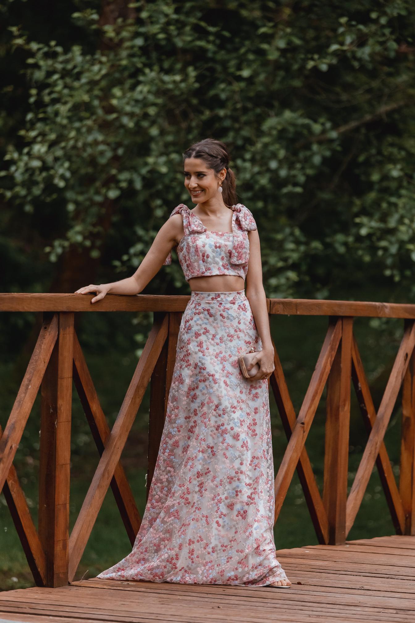 ook falda larga invitada boda