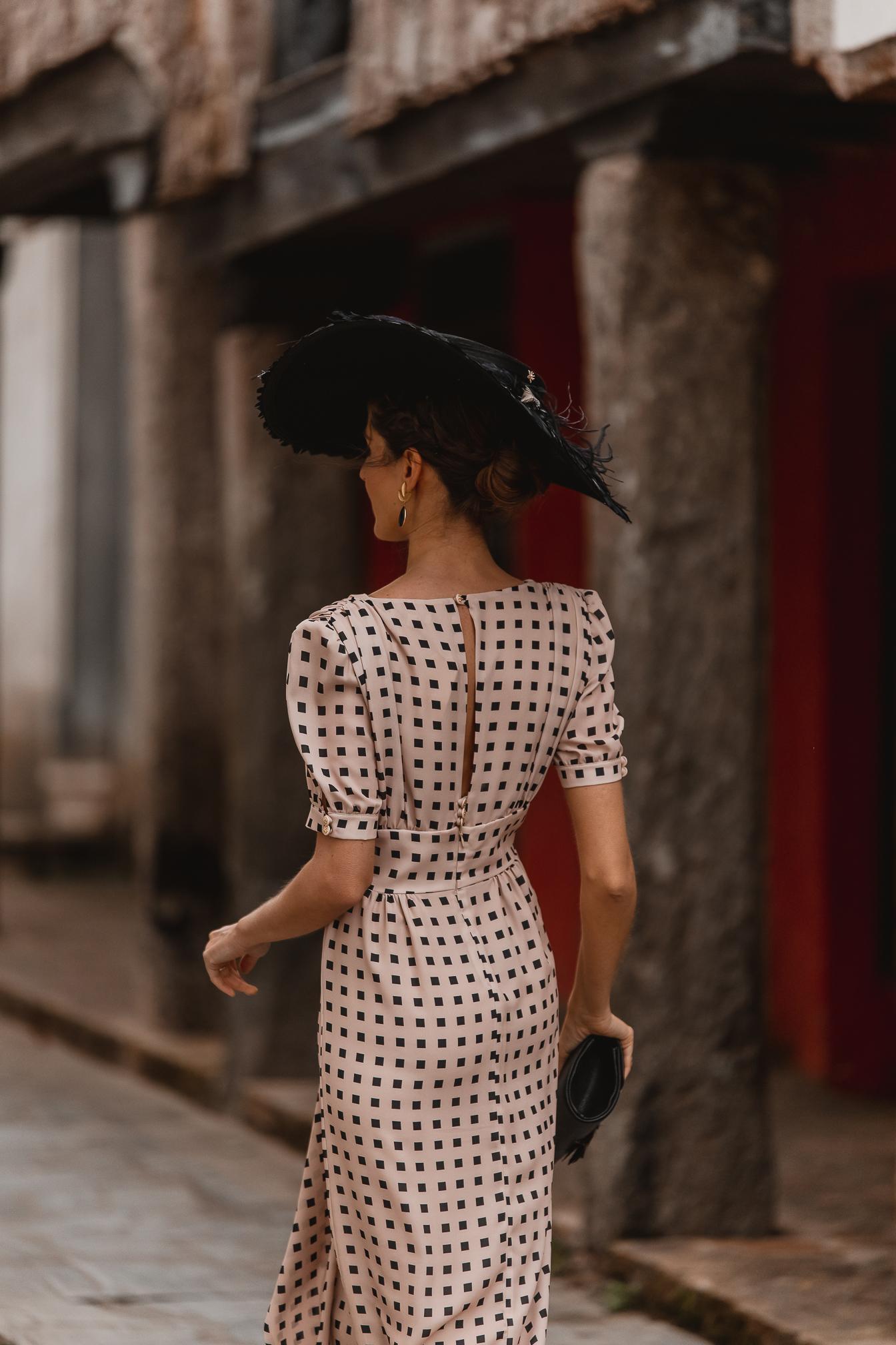 invitada perfecta vestido lunares 2021