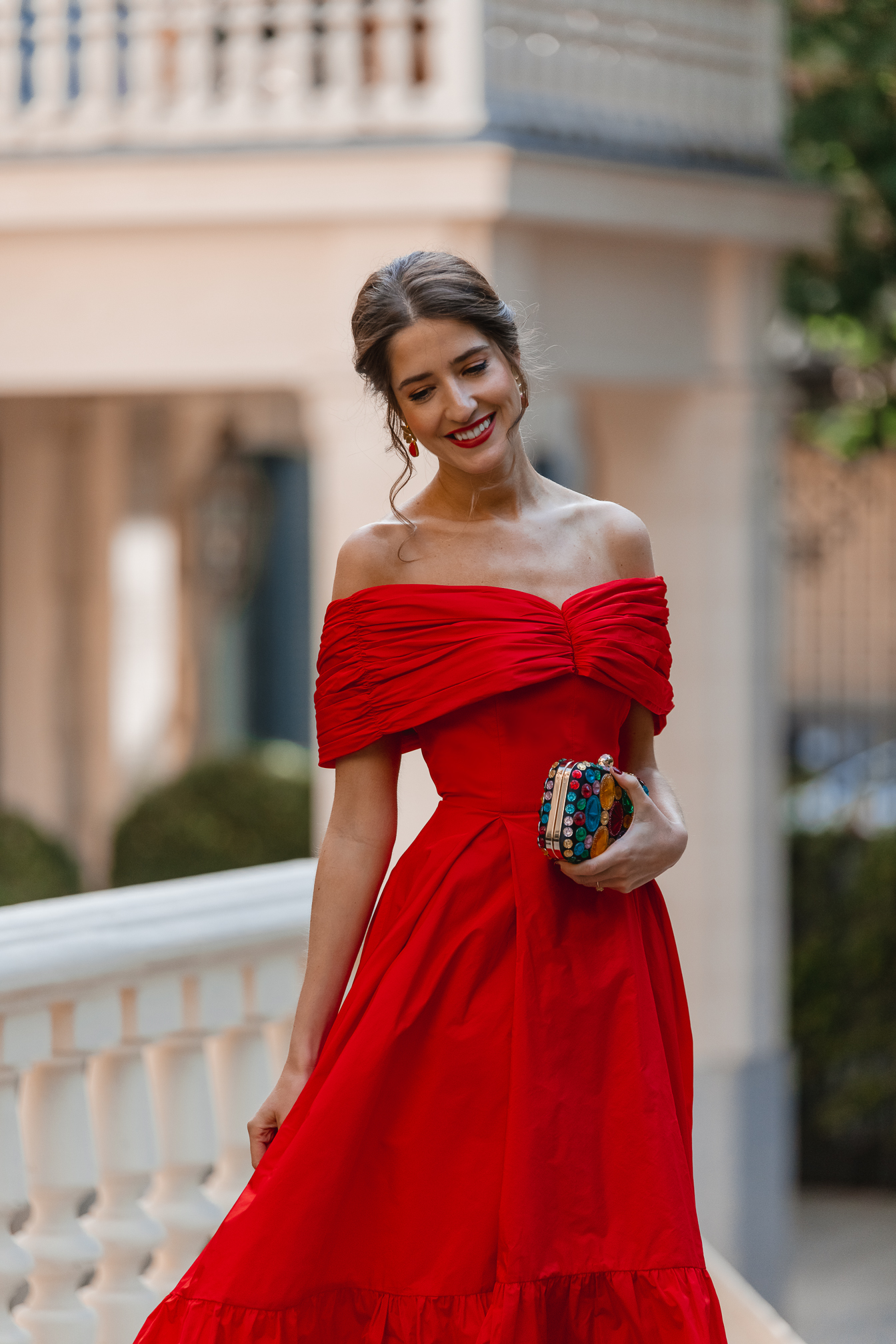 invitada perfecta boda vestido rojo