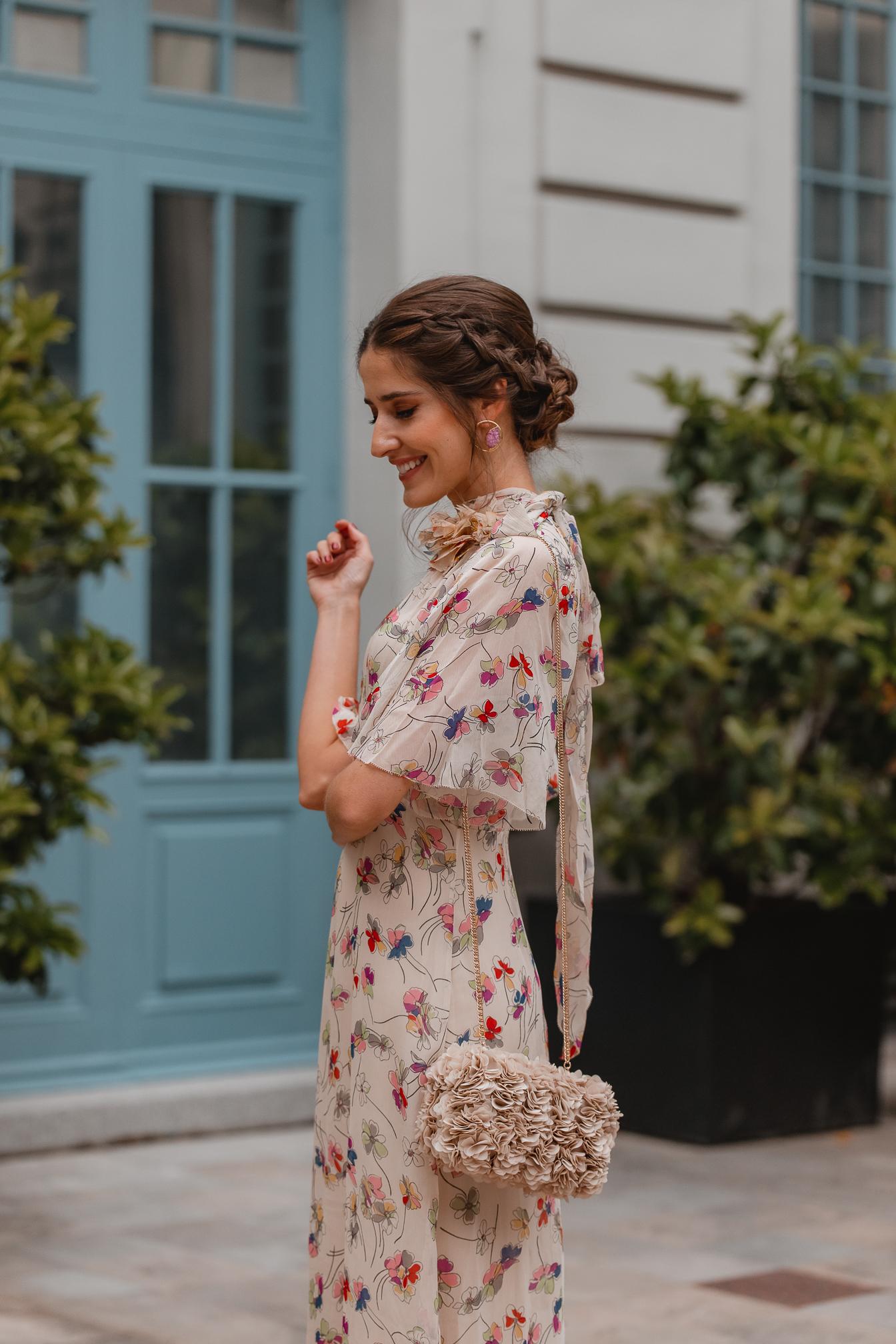 invitada perfecta vestido beige largo