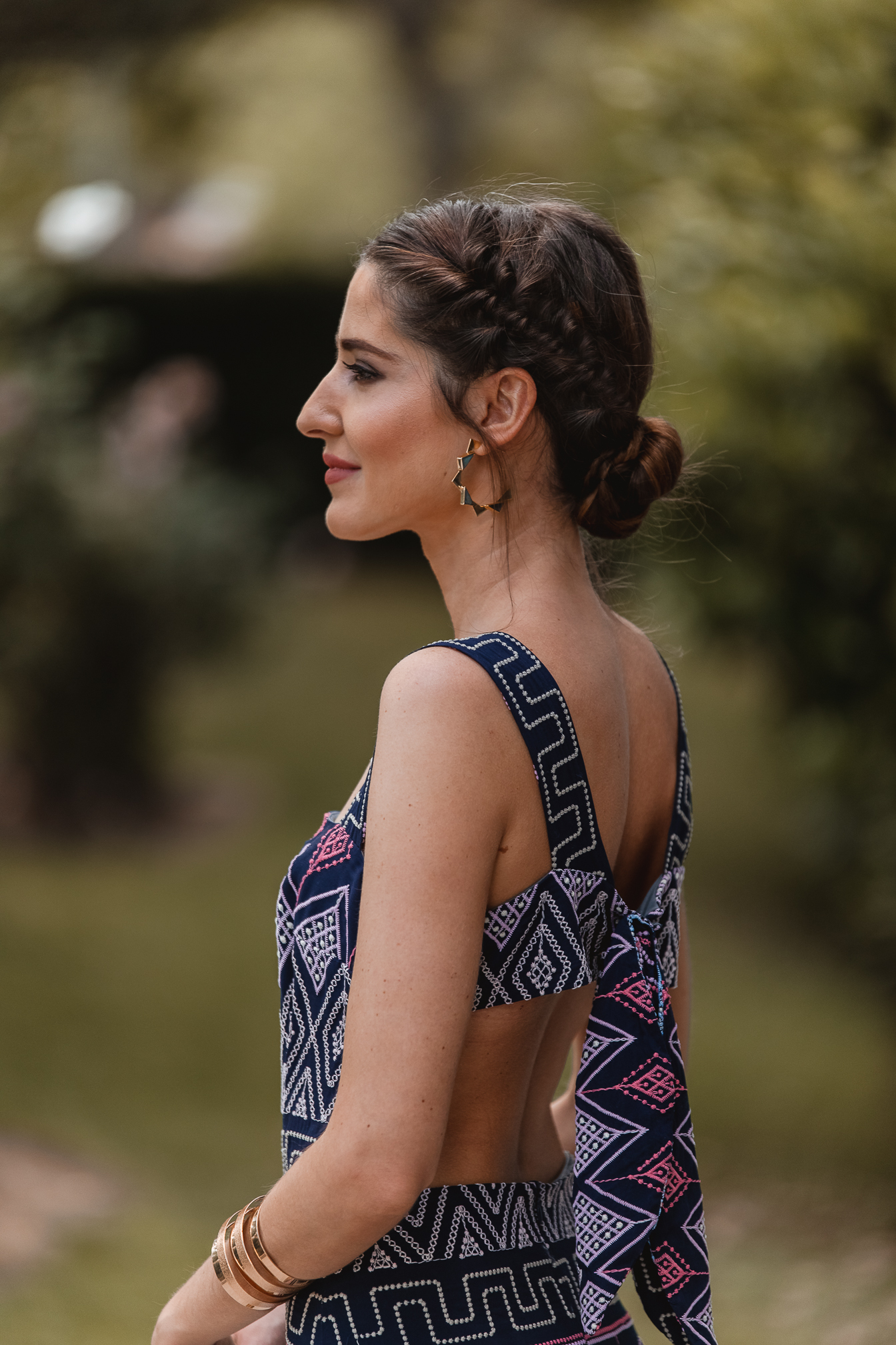 vestido largo espalda invitada perfecta