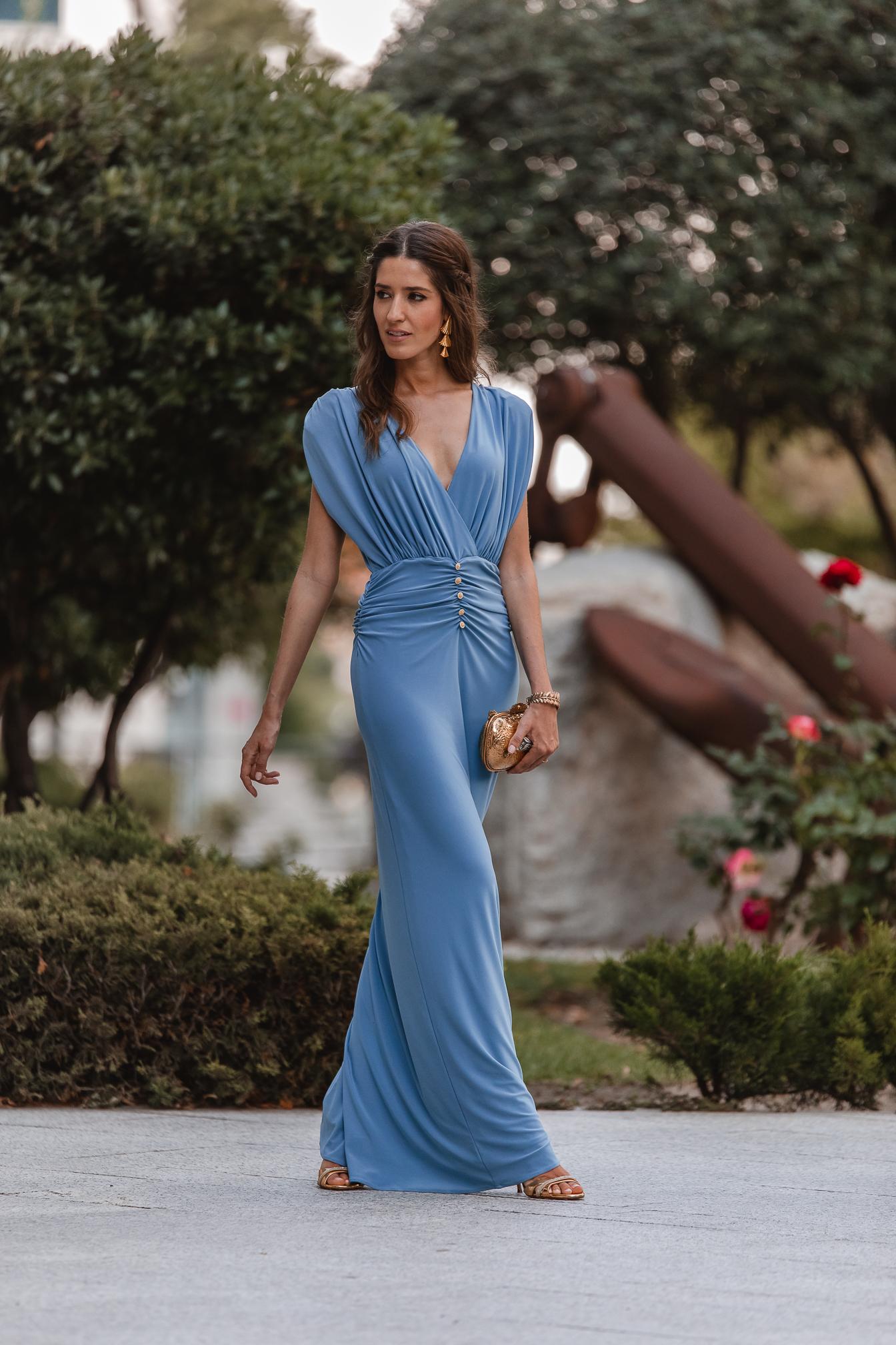 look invitada boda noche vestido lowcost