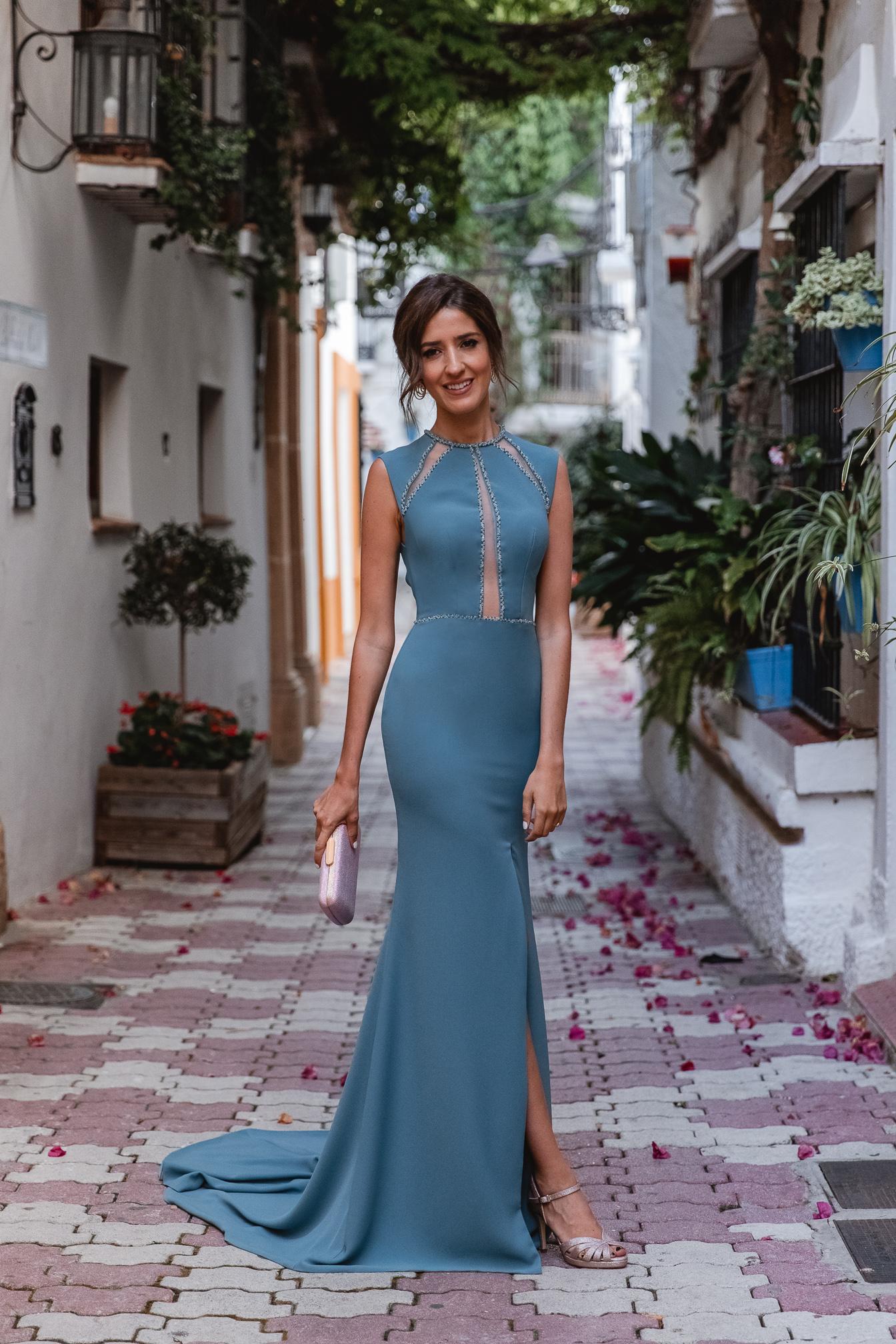 Vestido largo hermana novia