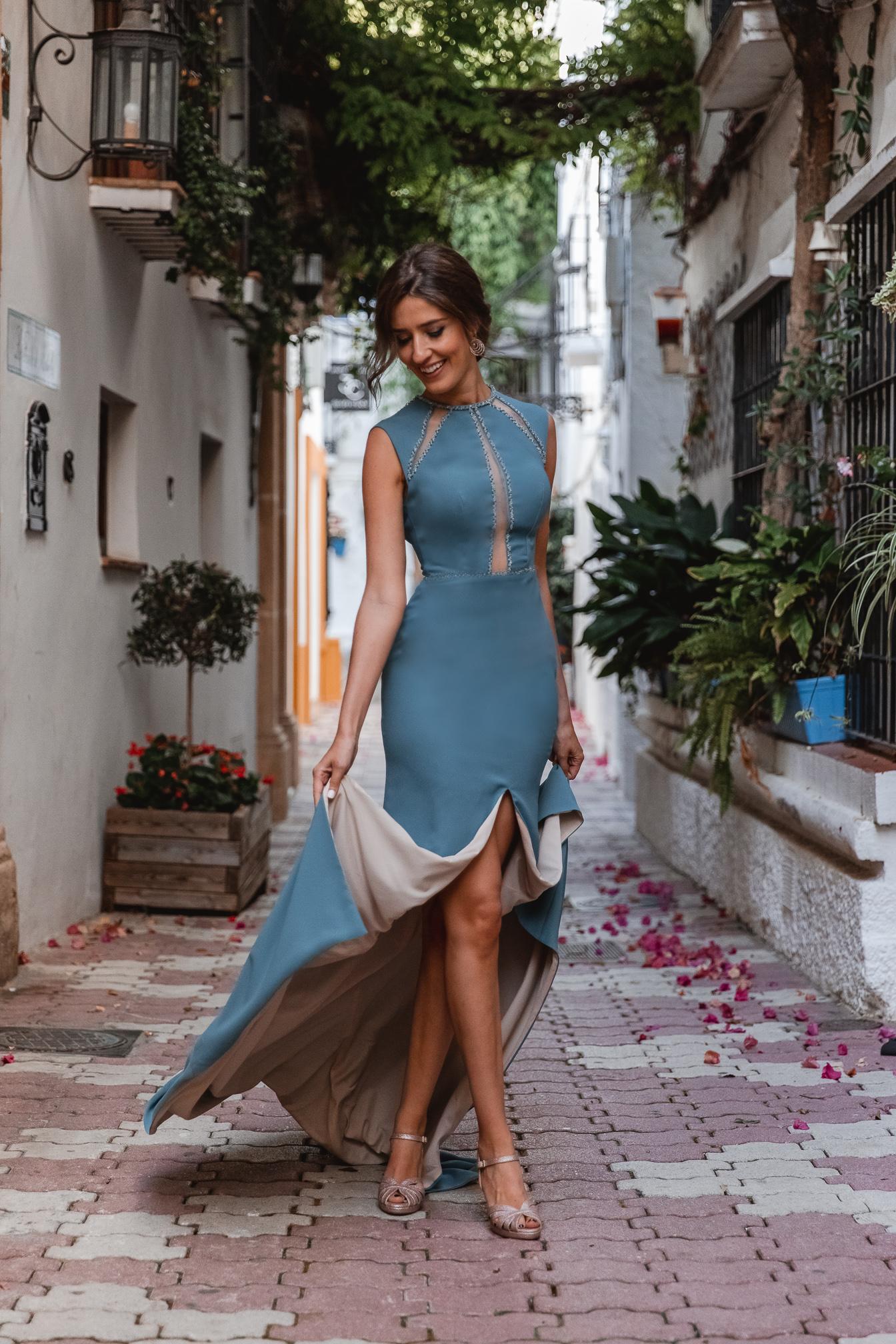 invitada perfecta marbella vestido