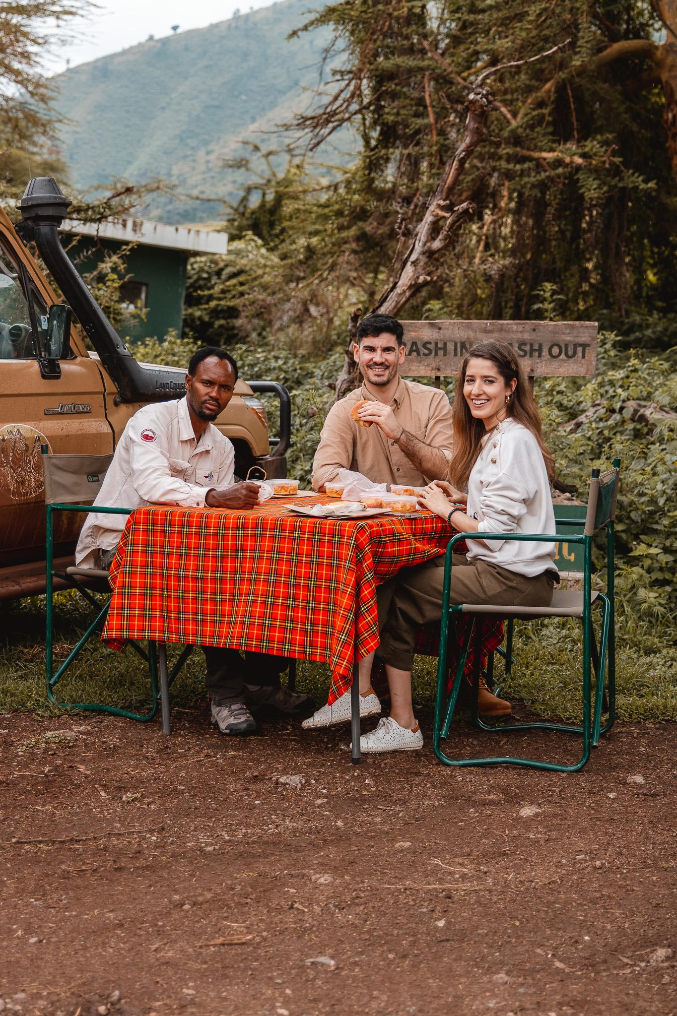 comer safari tanzania