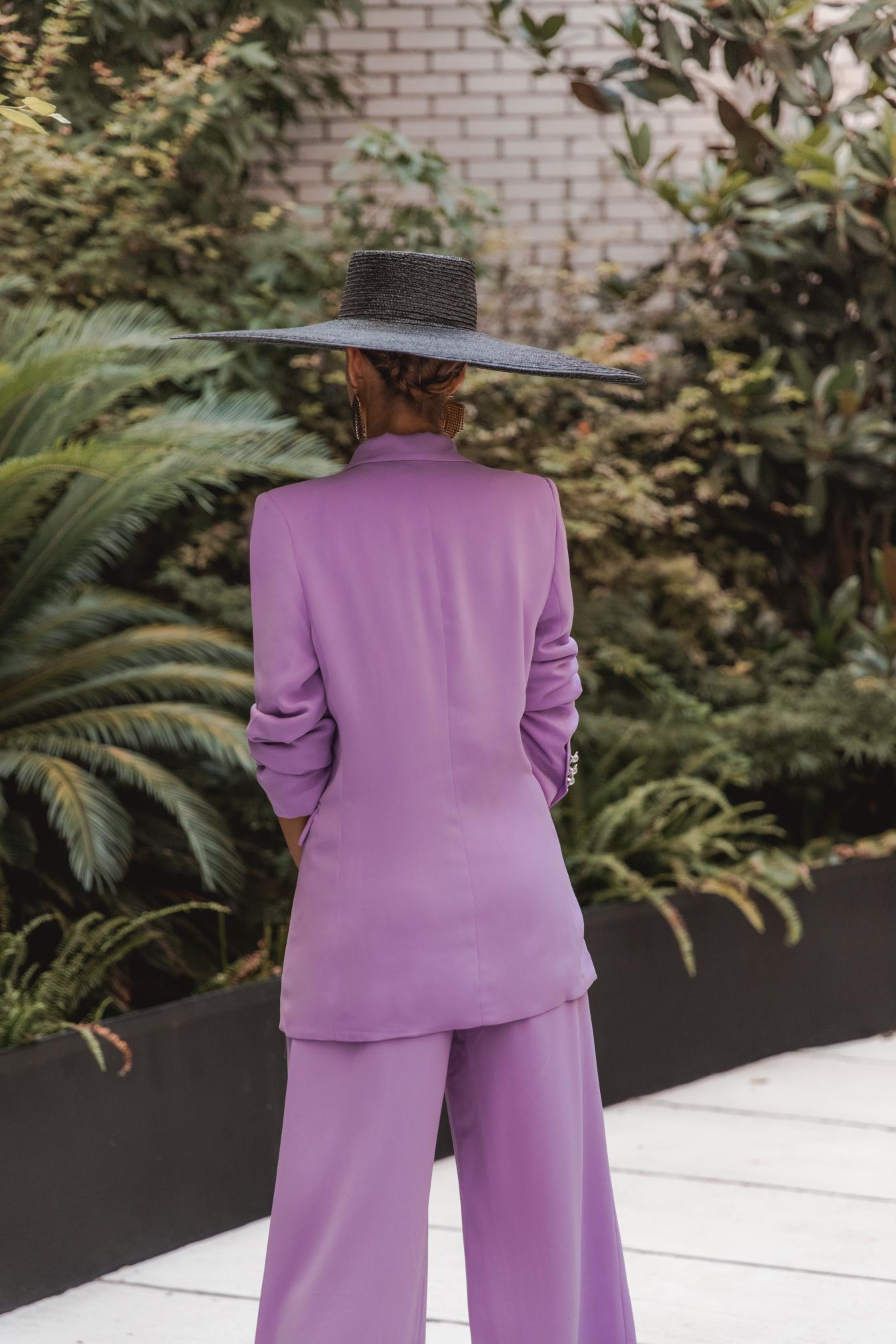 look traje chaqueta pamela invitada boda