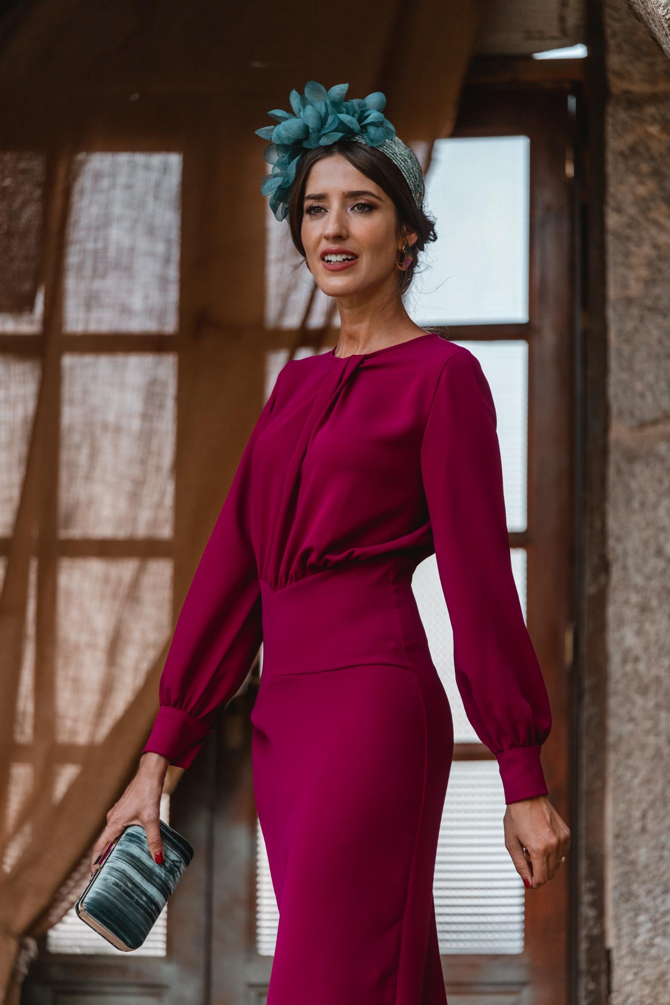 invitada otoño 2021 vestido buganvilla