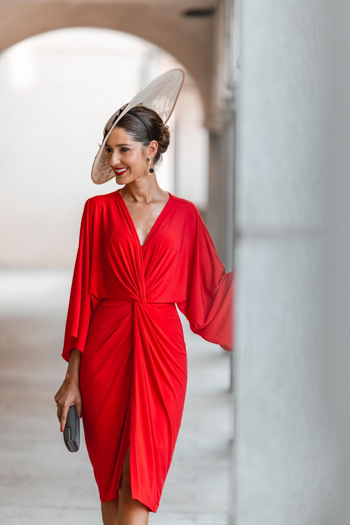 invitada perfecta vestido rojo pamela