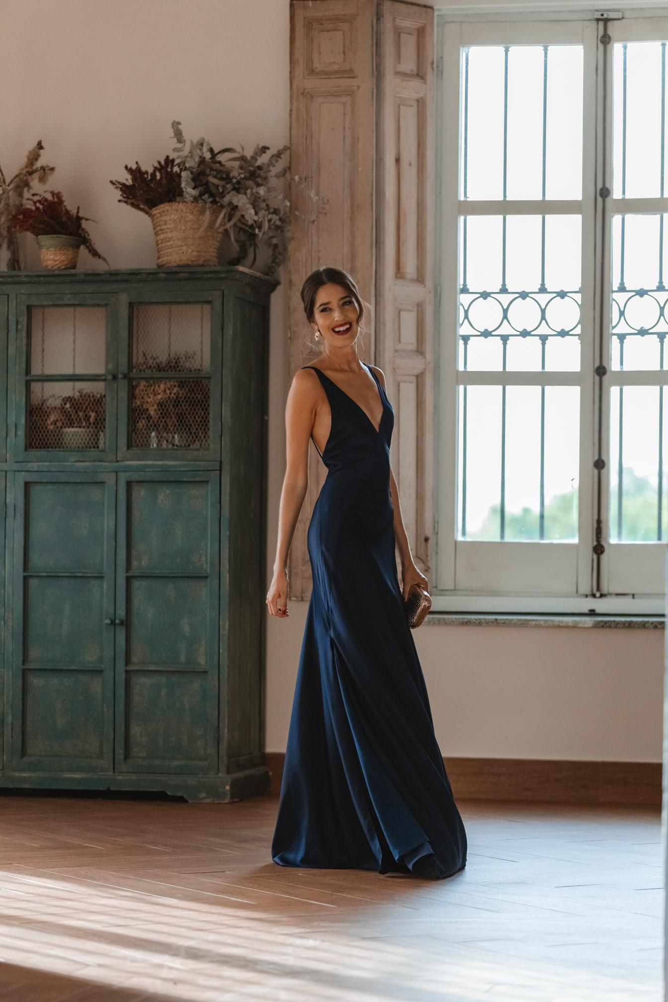 vestido largo invitada boda 2021