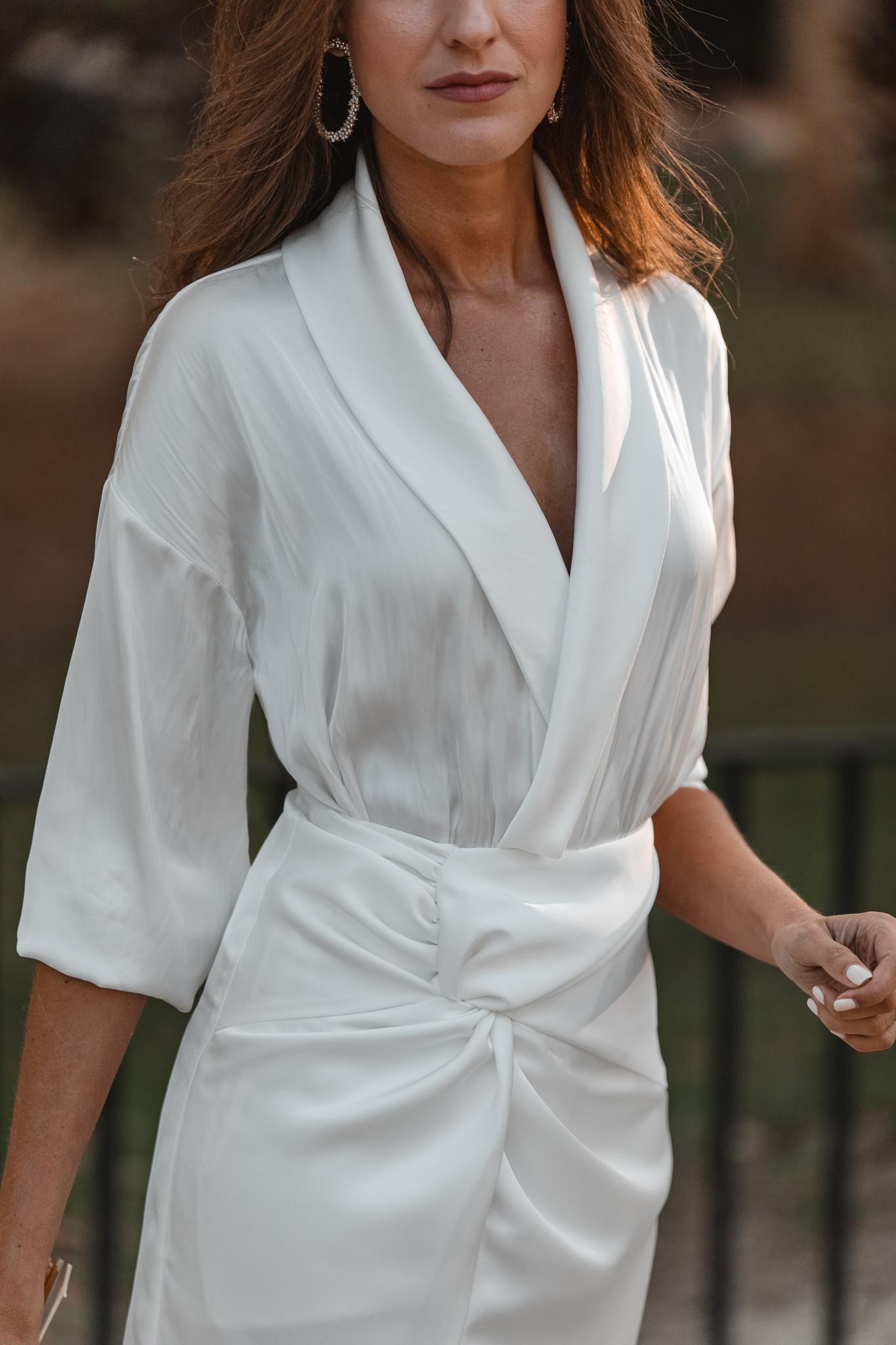 blusa novia blanca