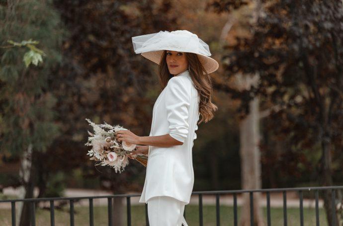 invitada perfecta novia traje pamela