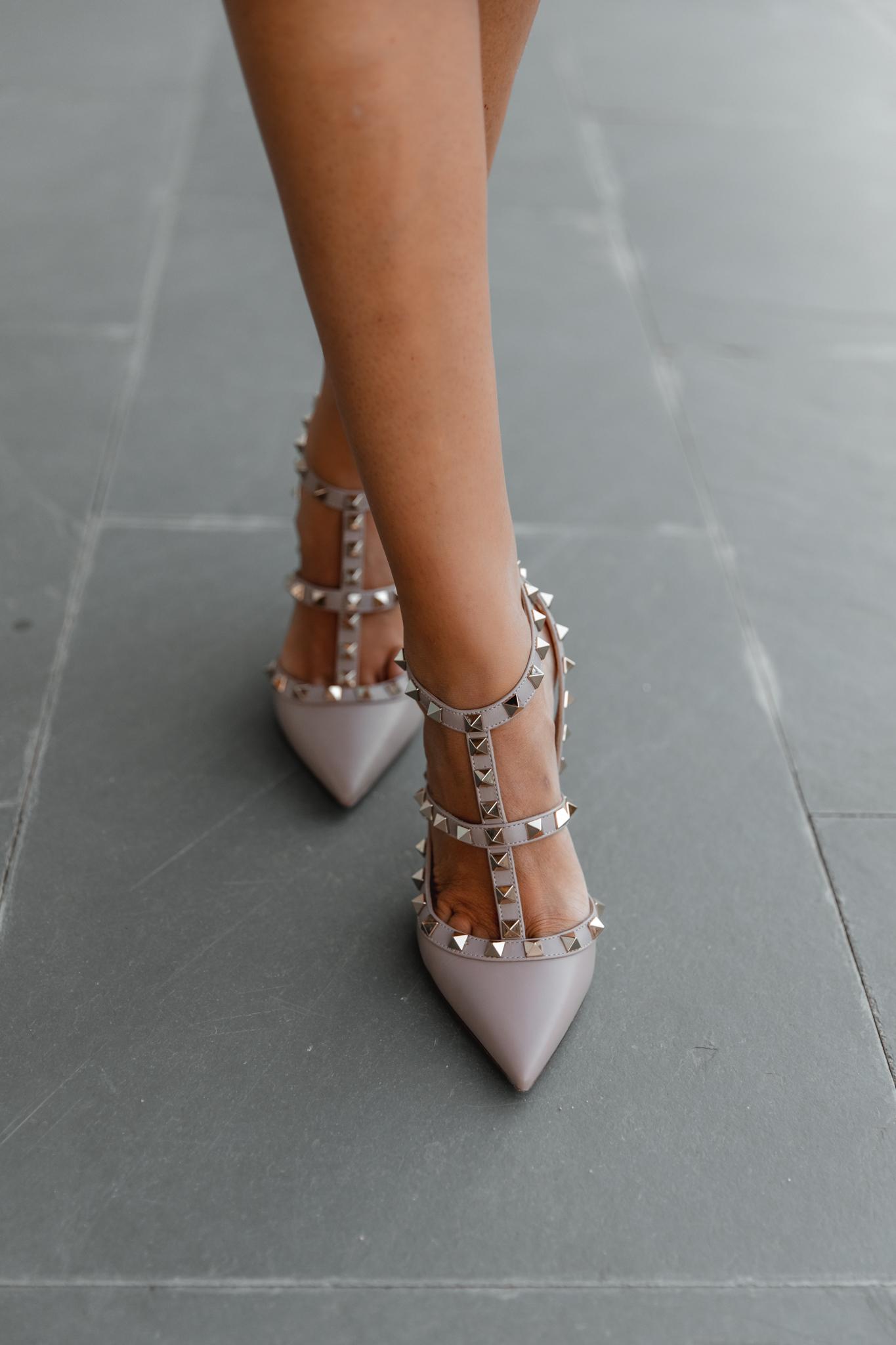 zapatos nude valentino invitada novia