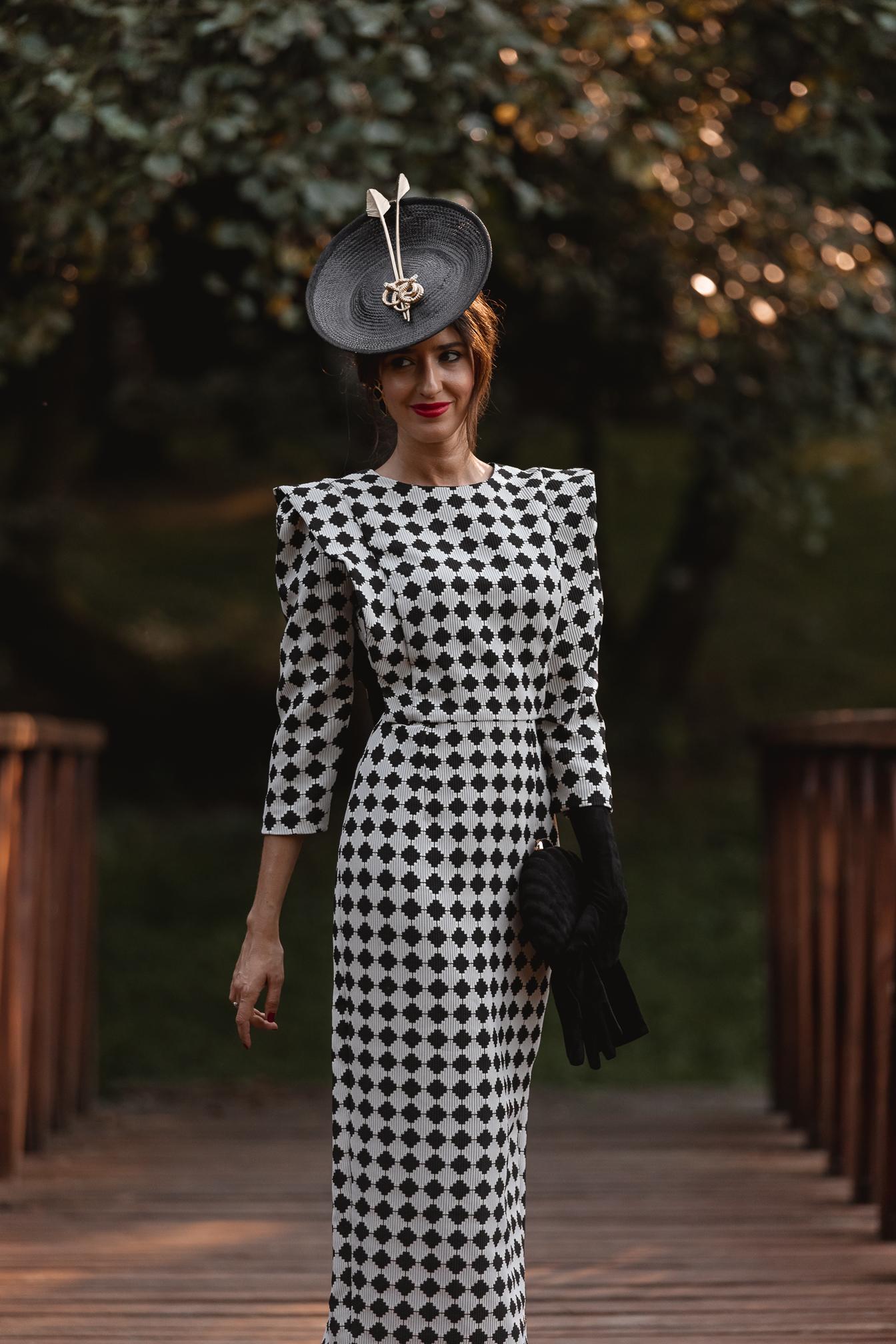 invitada perfecta vestido midi otoño