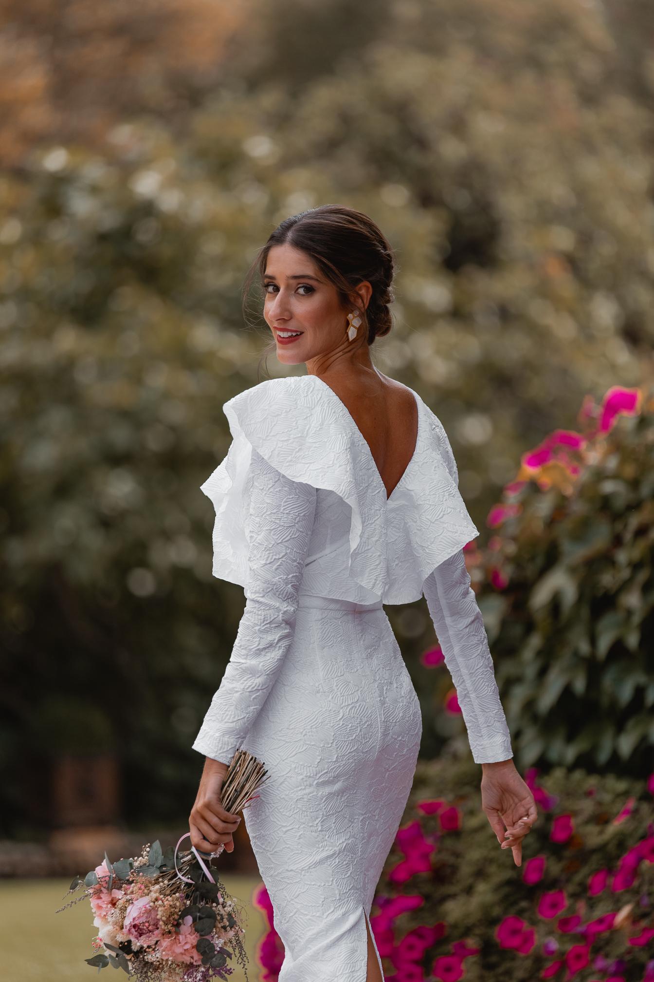invitada perfecta vestido blanco boda civil