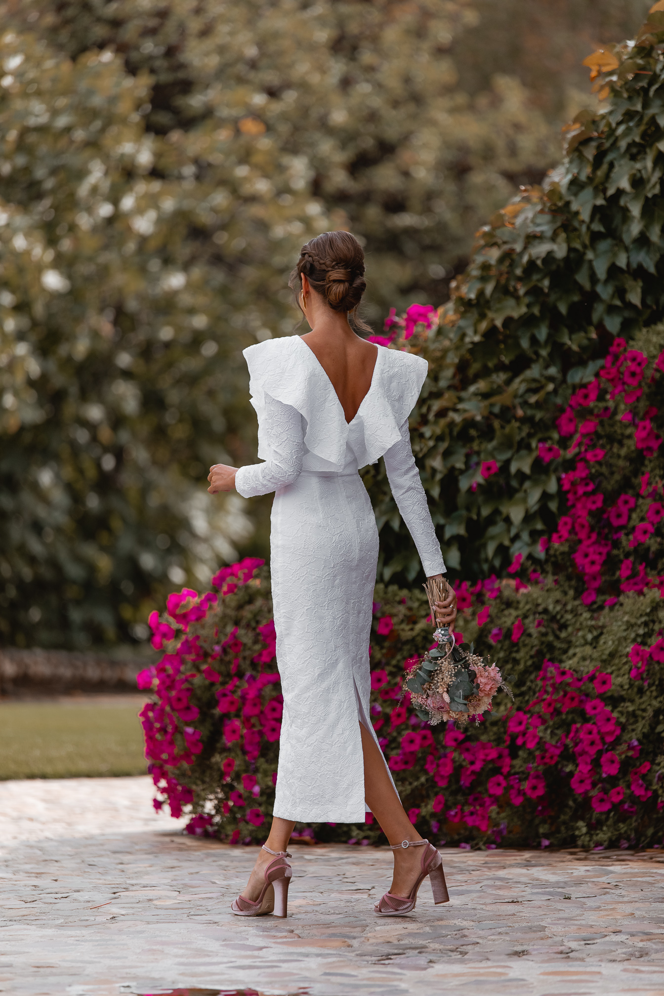 invitada perfecta vestido novia boda civil
