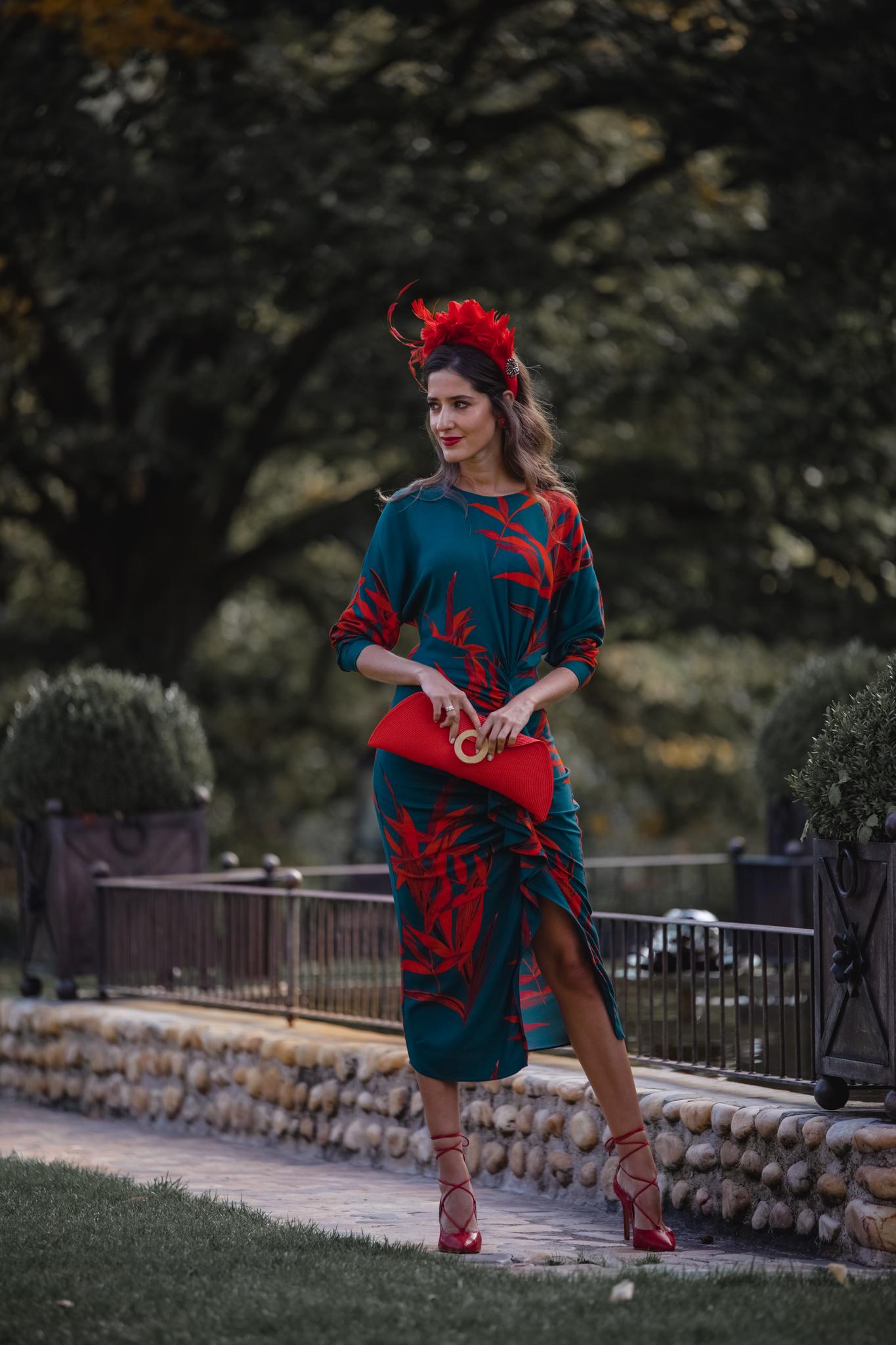 vestido invitada otoño invierno